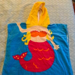 Kids Mermaid Towel Coverup